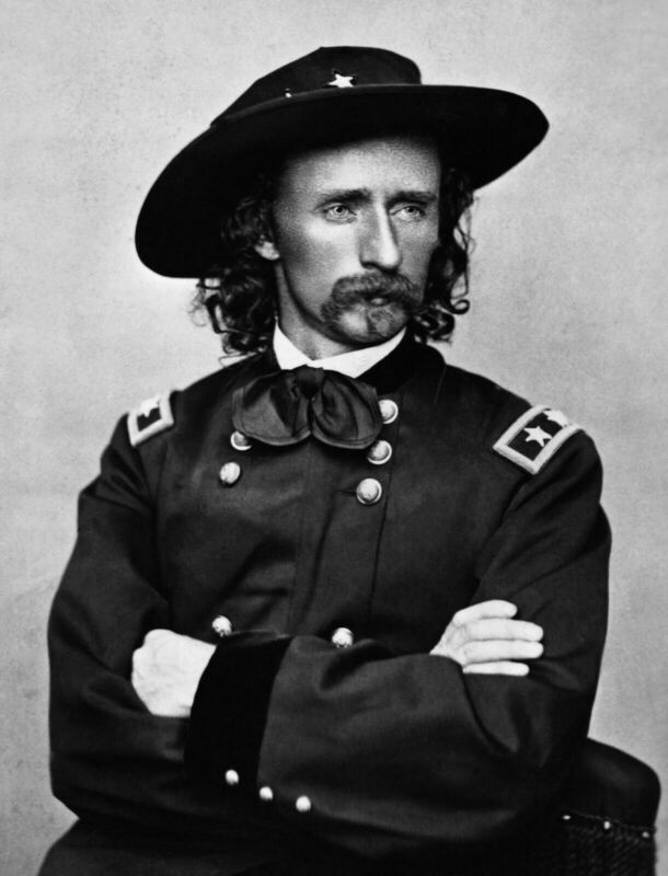 GEORGE A CUSTER 8X10 GLOSSY PHOTO PICTURE