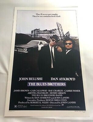 Blues Brothers One Sheet Movie Poster 1980 - NOS 11