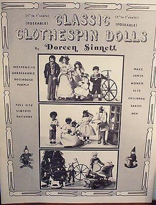 Classic Clothespin Doll Book by Doreen Sinnett