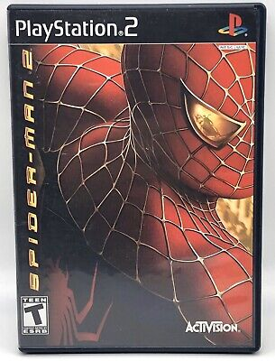 PlayStation 2 PS2 Spider-Man 2 **Complete With Manual** Tested