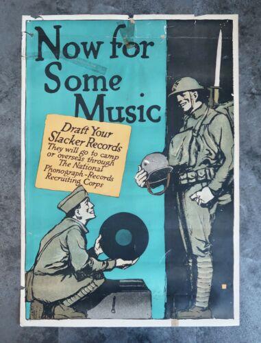 WW1 US propaganda poster air corp WW2 vet estate victory liberty loan home front