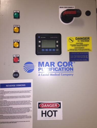 MAR COR 4400M PLC Digital Power Control System Hemodialysis Reverse Osmosis RO