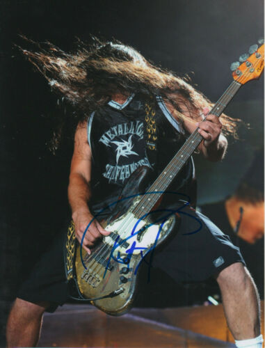 "Robert Trujillo ""Metallica"" signed 8x10 inch photo autograph"