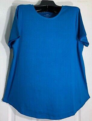 Aqua Womens Gray Side Slit Scoop Neck Casual T-Shirt Top S BHFO 5616