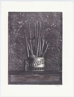 "Jasper Johns ""Savarin"""