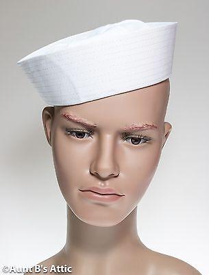 Füller Hut Weiß Baumwolle Militär Matrose Seamen's Cap Themen Kostüm Hut