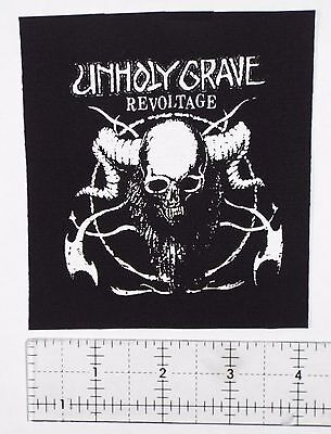 Unholy Grave Grindcore Patch Yacopsae Phobia Pretty Little Flower Insect Warfare