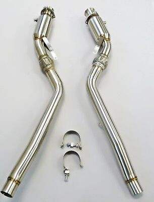 Becker Exhaust Down pipe Fits For 04 thru 08 Audi S4 B6 B7 Turbo Downpipes