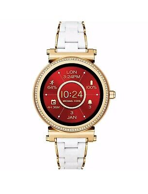 Brand New Sealed MK Michael Kors Access, Women's Smartwatch, Sofie Gold  MKT5039