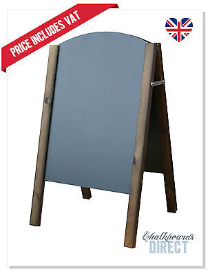WOODEN PAVEMENT SIGN A-BOARD CHALKBOARD CAFE SHOP PUB LIQUID CHALK(ABW0090)