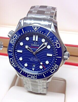 Omega Seamaster 300M 42mm 210.30.42.20.03.001 Blue Dial With Papers 2020 UNWORN