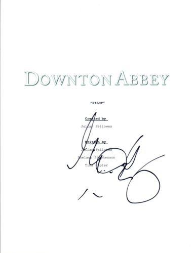 Michelle Dockery Signed Autographed DOWNTON ABBEY Full Pilot Episode Script COA