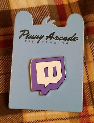 Pinny Arcade Pax East 2015 Twitch Glitch Pin Logo Twitch Tv