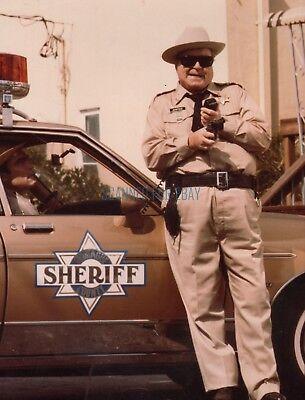 SMOKEY AND THE BANDIT JACKIE GLEASON AS SHERIFF BUFORD T. JUSTICE (Jackie Gleason Smokey And The Bandit Photos)