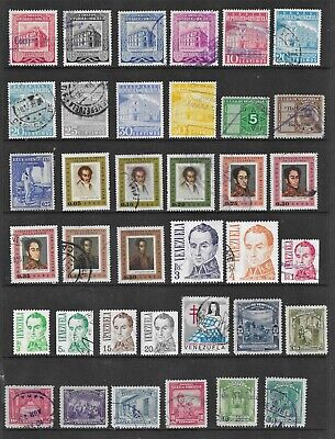 HICK GIRL- BEAUTIFUL USED  VENEZUELA STAMPS     VARIOUS ISSUES        T149