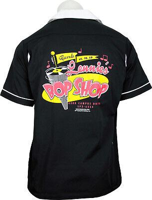 Shop Retro Bowling Shirt (Daddy-O's Lennie's Bop Shop Vintage Inspired Retro Bowling Shirt - New! SM-3X)