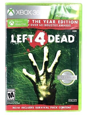 Left 4 Dead Game of the Year Edition (Xbox 360 / Xbox One) BRAND NEW SEALED Xb1