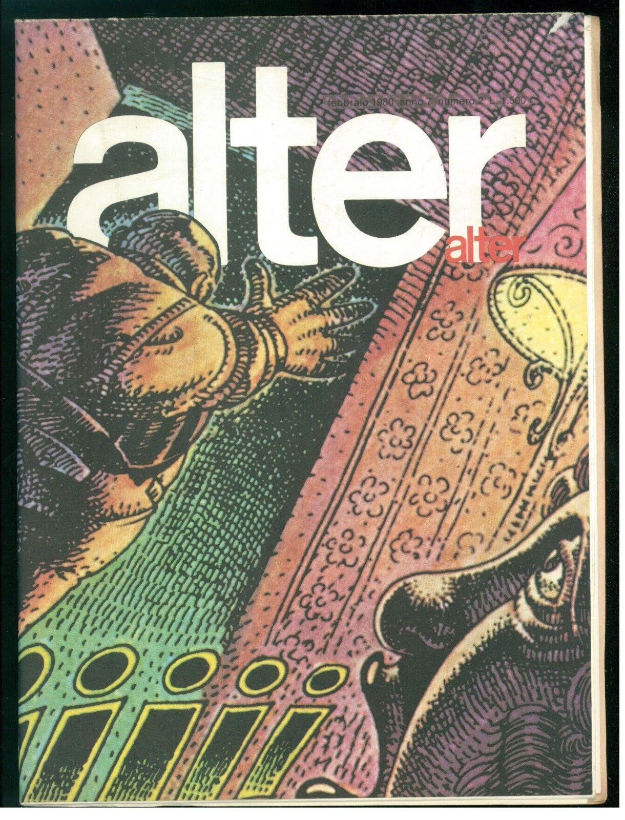 ALTER ALTER FEBBRAIO 1980 NUMERO 2 CAZA WILL EISNER LOUSTAL PARINGAUX TARDI