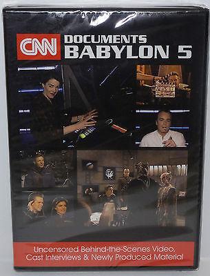 BABYLON 5 :  CNN DOCUMENTS BABYLON 5 DVD MADE IN 2016