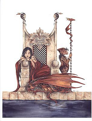 Amy Brown - The Red Queen - OUT OF PRINT