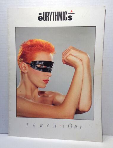 Vintage 1983 Eurythmics Touch Concert Tour Program!
