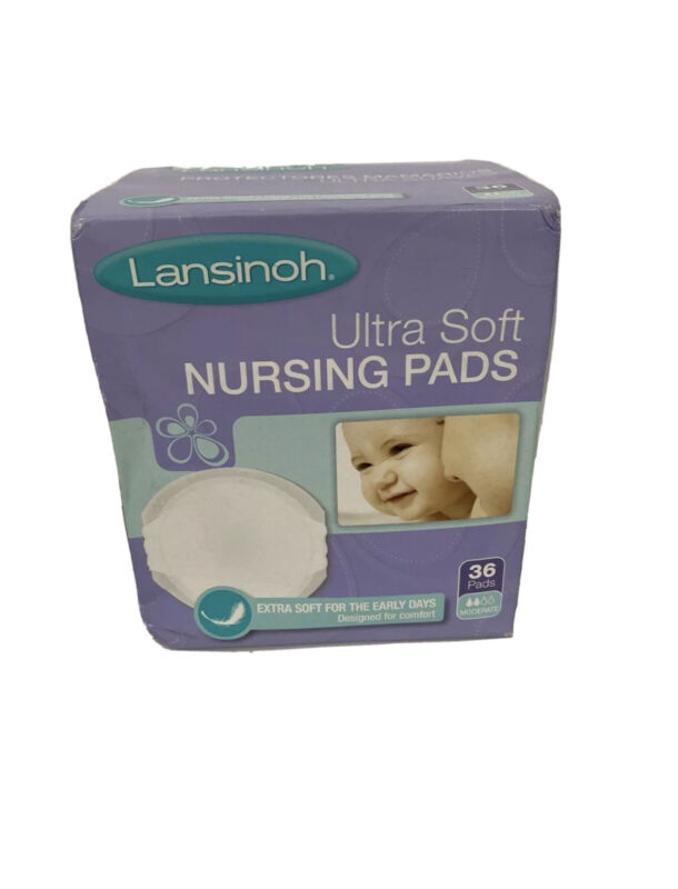 Lansinoh Nursing Pads, Pack of 36 Ultra Soft Disposable Breast Pads