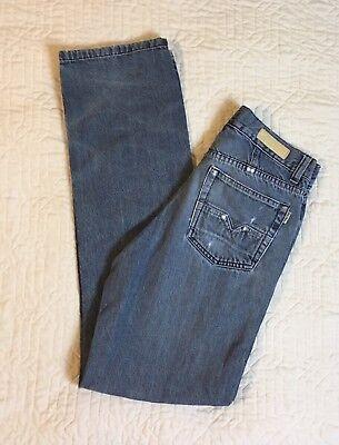 Del Piero Blue Jeans Italy's Best Italian Men Size 30x32 Straight Medium