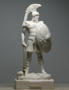 ARES MARS Greek Roman God of War Handmade Statue Sculpture figure 7.09΄΄/18cm