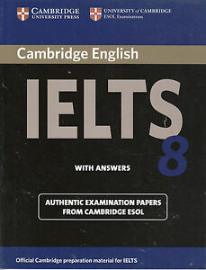 Cambridge IELTS 8 ESOL Examination Papers with Answers @NEW@ Book Only!