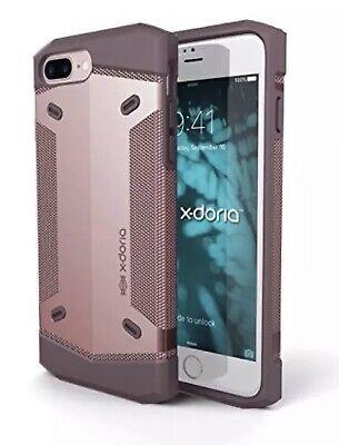 X-Doria Rumble Series iPhone 7 Plus + Grip Shockproof Protective Case ROSE GOLD