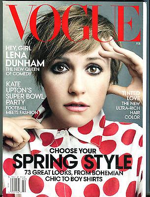 Vogue Magazine February 2014 Lena Dunham Ex 070816Jhe