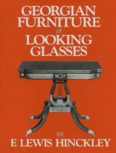 English Irish American Georgian Furniture Mirrors / Scarce Illustrated Book
