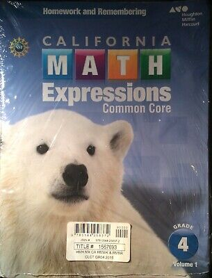 Math Expressions Homework and Remembering Common Core Vol.1&2 Grade (Math Expressions Grade 4 Homework And Remembering)