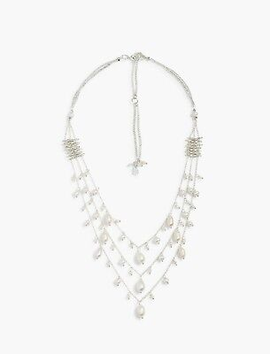FLASH WEEKEND SALE! NWT Lucky Brand Layered Pearl Necklace