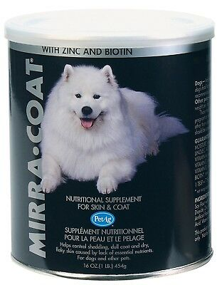 Mirra-Coat Nutritional Skin & Coat Supplement for Dogs - 1lb Powder