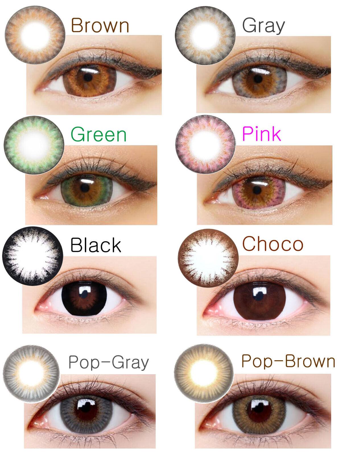 Super Crazy Big Eye - Farbige Kontaktlinsen-Stärke-Korea Contact Lenses-DIA 15.0