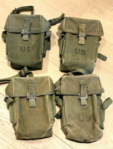 Original Early Vietnam War - M-Fourteen Ammunition Pouches - Lot of 4