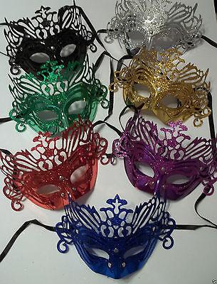 n Mask Silver or Pink Mardi Gras Masquerade Mask (Pink Mardi Gras Mask)
