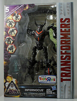 Transformers Infernocus w/Quintessa Last Knight 5 Figure Combiner Set TRU 2017