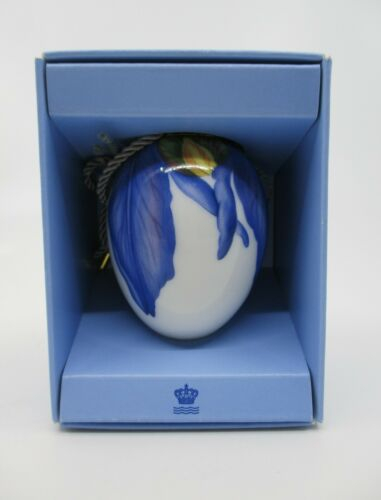 ROYAL COPENHAGEN SPRING COLLECTION EASTER EGG - Iris Petals - New in Box - 27B