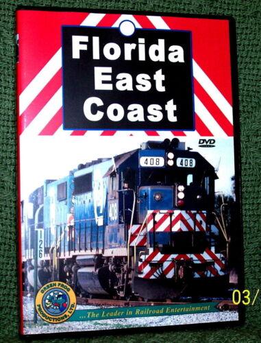 """20101 TRAIN VIDEO DVD """"FLORIDA EAST COAST"""" FEC"""