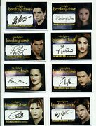 Twilight Breaking Dawn Autograph