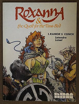Roxanna & The Quest For The Time Bird Ramor's Conch #1 (1987 NBM) GN