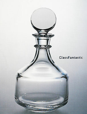NEW in BOX STEUBEN Glass CLASSIC DECANTER crystal Bourbon Scotch whiskey rye