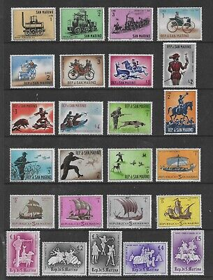 HICK GIRL- MINT SAN MARINO STAMPS    VARIOUS ISSUES       T176