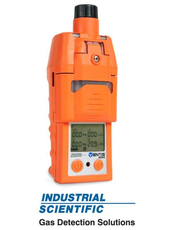 Industrial Scientific Refurbished CPO Ventis MX4 4 Gas Monitor / Detector w/pump