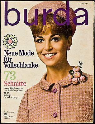 Burda Neue Mode für Vollschlanke um 1968 SH 1 B121