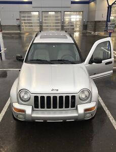 Mint 2003 Jeep Liberty Limited Edition Sport 4X4