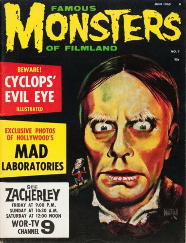 Famous Monsters of Filmland #7 Photocopy REPLICA Magazine, Zacherley Variant