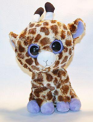 Safari 2011 TY Beanie Boos medium Buddy size 10in plush big eyes Giraffe 36905